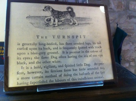 Information abut 'The Turnspit' at Abergavenny Museum.