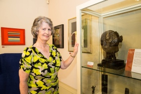 Francis Marshall is the sister of Sheila Day and was  at the Victoria Gallery  to represent her deceased sister.