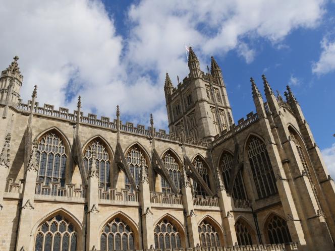 First few steps for Bath Abbey FootprintProject