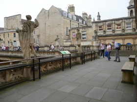 Another terrace overlooking the Great Bath