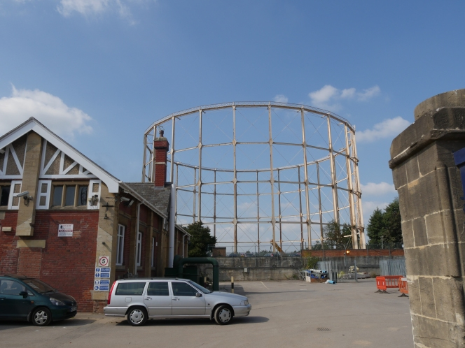 Bath's last gas holder will be gone by Christmas