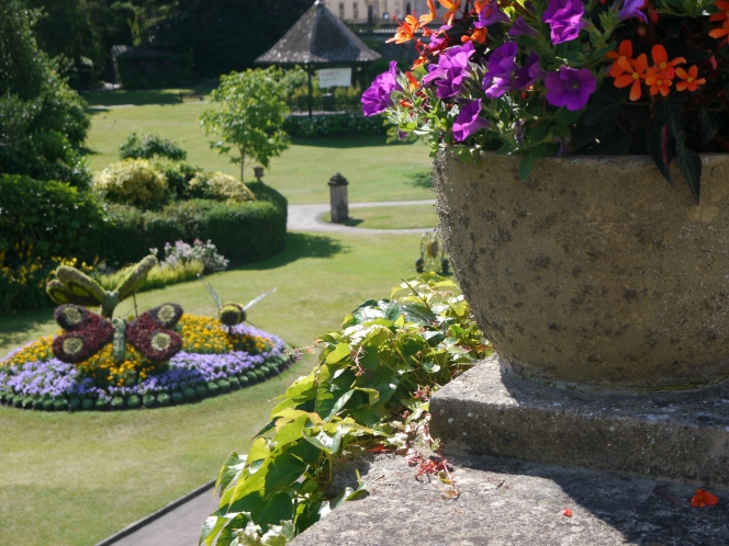 Honours bouquet for Bath in Bloom Awards.