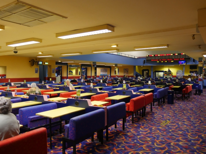 Final calls for Bath bingo hall.