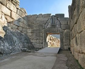 The Lions Gate at Mycenae