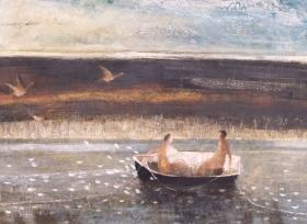 River in the Morning by David Brayne