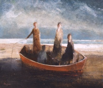 David Brayne's birthday show at Victoria Art Gallery.