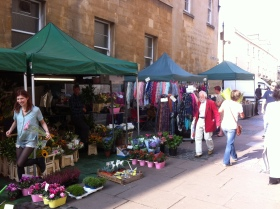 Existing street traders in Bath