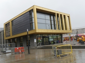 The new One Stop Shop and library at Keynsham Civic Centre