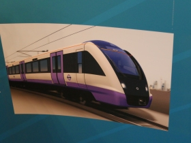 How our electrified train service might look.