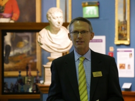 Jon Benington - Manager of the Victoria Art Gallery
