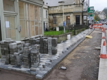 Barriers come off the LondonRoad