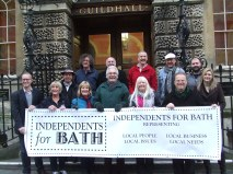 Bath traders declare 'independence.'