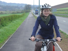 The A4 cycleway.