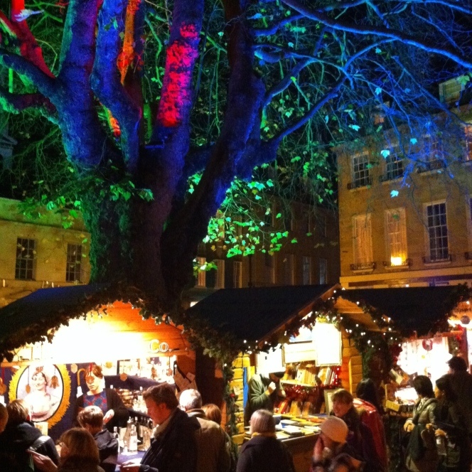New layout for part of Bath's Christmas Market