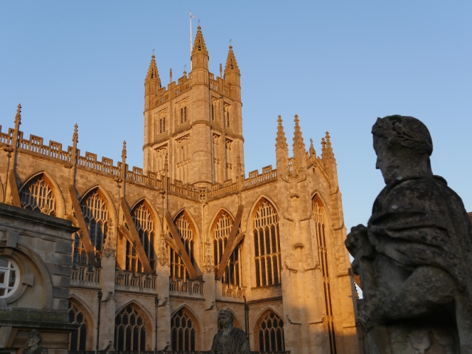 Stepping up at Bath Abbey