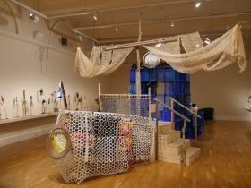 Edwina Bridgeman's 'Ship of Fools' central installation.