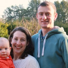 Rowan, Melissa and Andrew Cannell