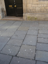 Gum near a nightclub in Walcot Street