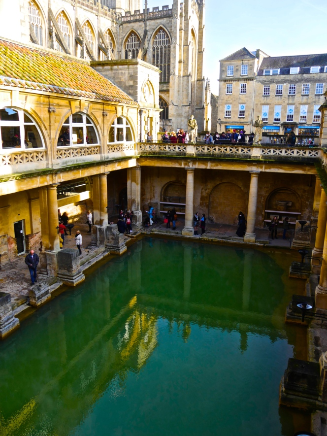 Hat trick for Roman Baths