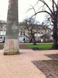 The obelisk after its cleaning.