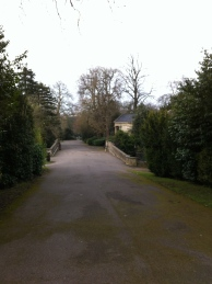 The main driveway through Sydney Gardens
