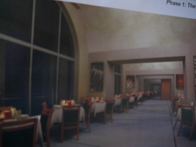 What a new restaurant in the Colonnades might look like.