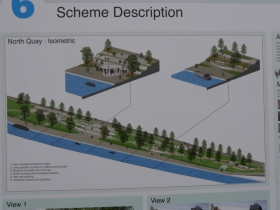 More visual information on the riverbank scheme