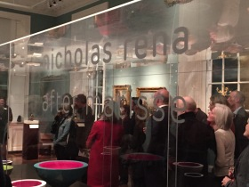 The opening reception for Nicholas Rena : After Matisse
