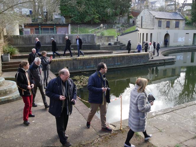 Spa towns of Europe visit Bath's Georgianlido.