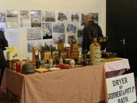 Cllr Bryan Chalker's collection of memorabilia and Stothert and Pitt artefacts.