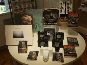 Postcards of the mcCullin portrait are on sale in the Holburne shop.