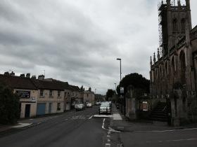 St Saviours Church at Larkhall.