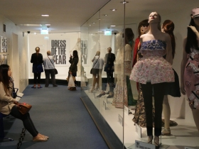 Fashion displays. Click on images to enlarge.