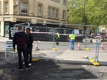 Improvement work to Seven Dials reaches final stages
