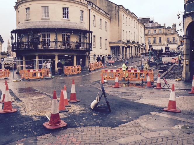 Improvement work to Seven Dials reaches final stages?