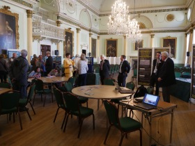Network Rail's monthly consultation meeting at Baths's Guildhall.