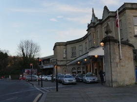 Bath Spa Station.