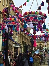 A colourful corner of Milsom Street