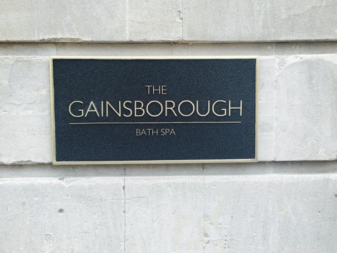 A peep inside the Gainsborough's frontdoor!