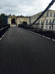 Things looking good now at Bath's Victoria Bridge.