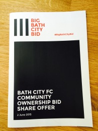 The booklet which explains why the football club should be owned by its supporters.
