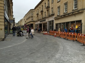 Doing away with pavement/road division in Stall Street.