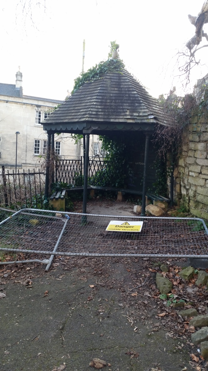 """Hedgemead Park """"neglected"""""""