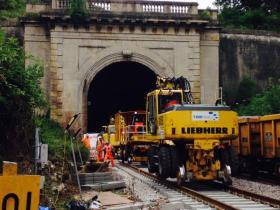Work at Box Tunnel. Photo © Network Rail