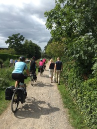 Is there room for walkers and cyclists?
