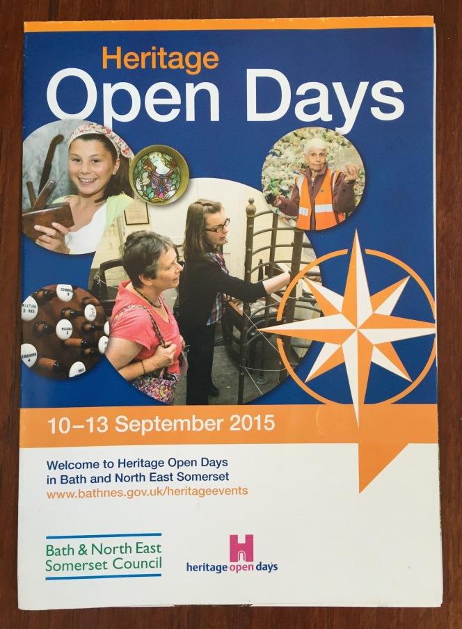 Heritage Open Day venues aroundBath