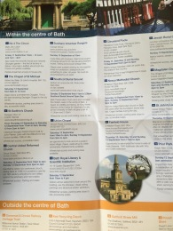 Some of the venues taking part in leaflet available from B&NES.