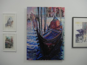 Some of Mike's new work on display. Click on images to enlarge.