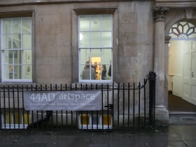 The 44AD Artspace Gallery off York Street in Bath.