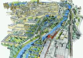 Improving the look of the River Avon through the city.